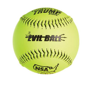 "Evil NSA 12"" 44/400 Leather Softball (by the dozen)"