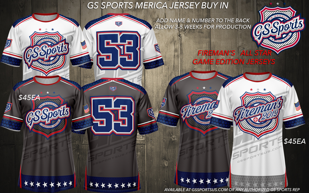 GS Sports USA Jersey Buy In (customizable)