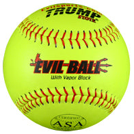 "Evil ASA 44/375 Leather 12"" Softball"