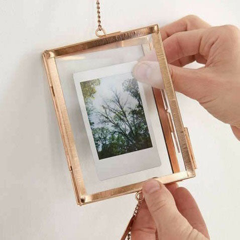 Golden Hanging Picture Frame