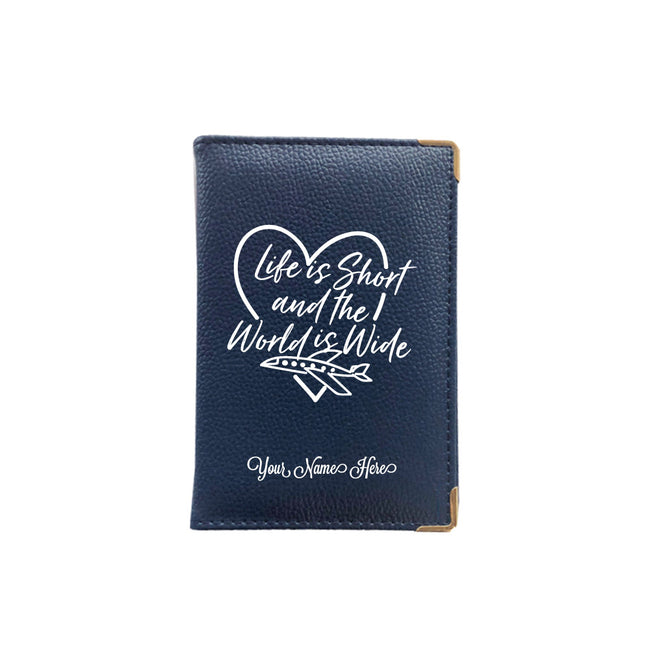 World is wide Passport Cover