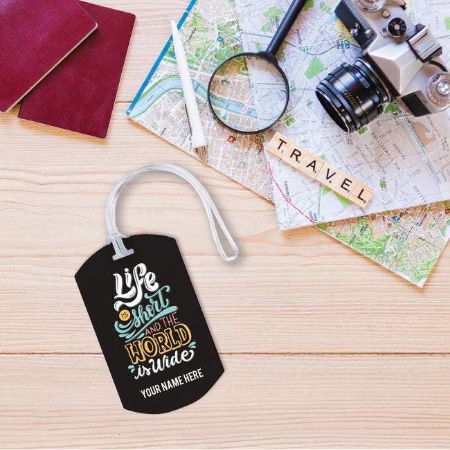 World is Wide Luggage Tag