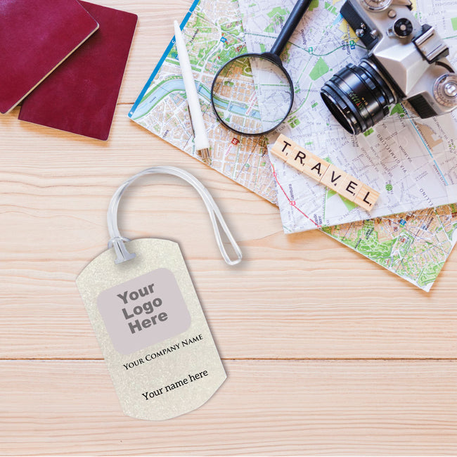 Your Logo Luggage Tag