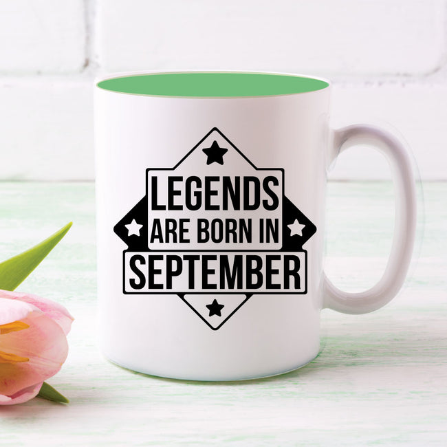 Legends Born Mug