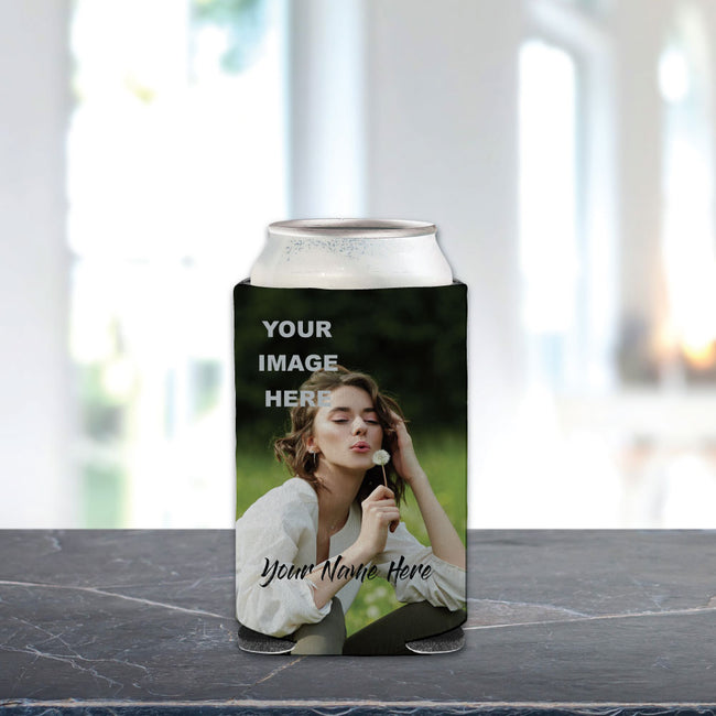 Your Name and Photo Can Cooler