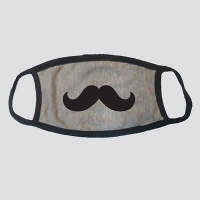 Mustache Cotton Face Mask