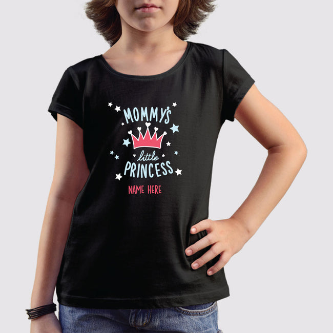 Mommy's Little Princess Girls T-Shirt