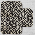 Placemats Hexagon Pattern- (Set of 6)