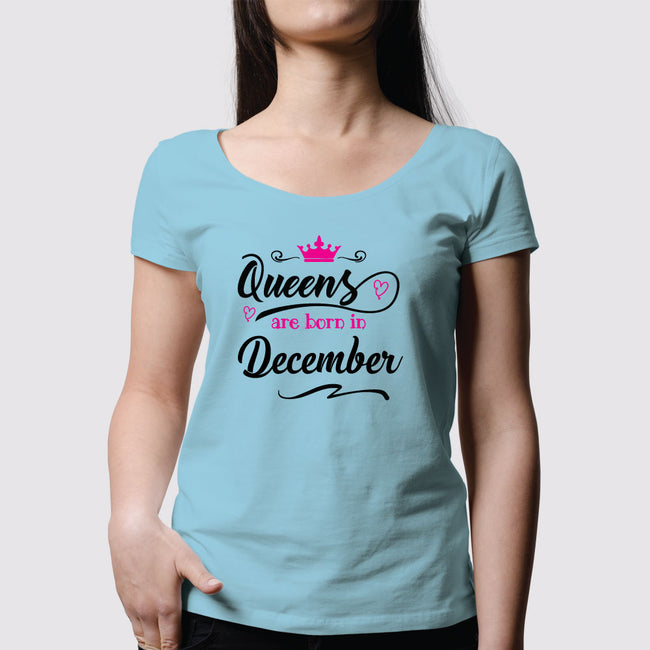 Queens are Born Women T-Shirt