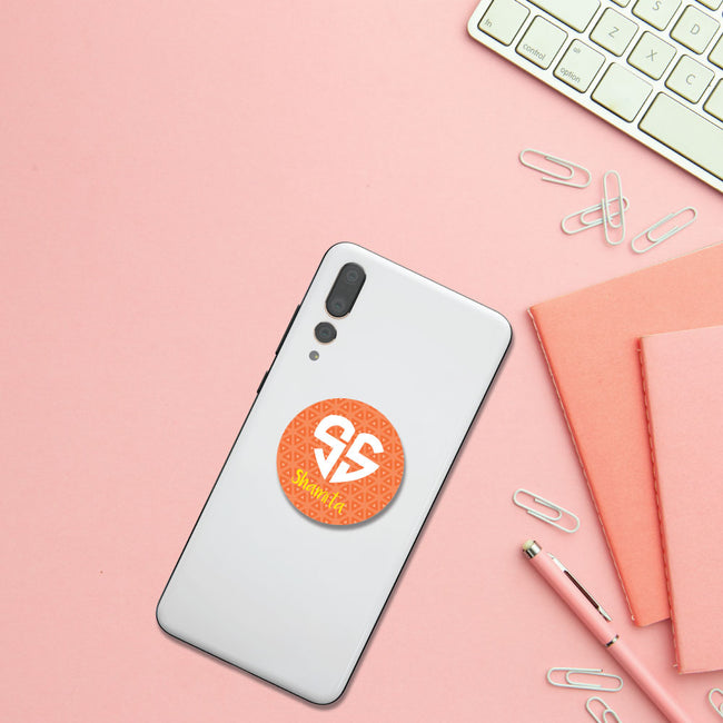 Lovegramos Monogram Pop Socket