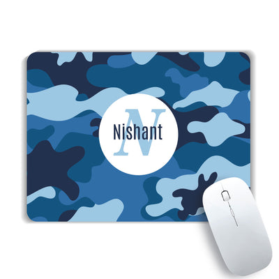 Your Initial and Name Mouse Pad