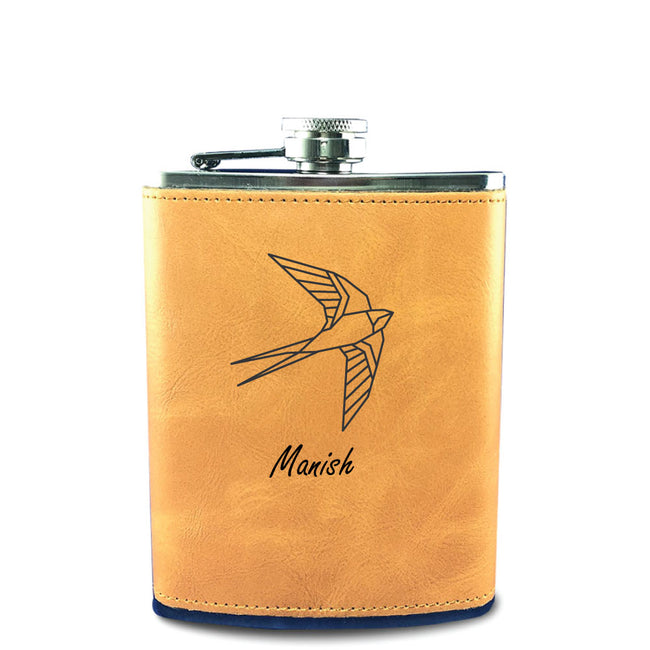 Bird Hip Flask
