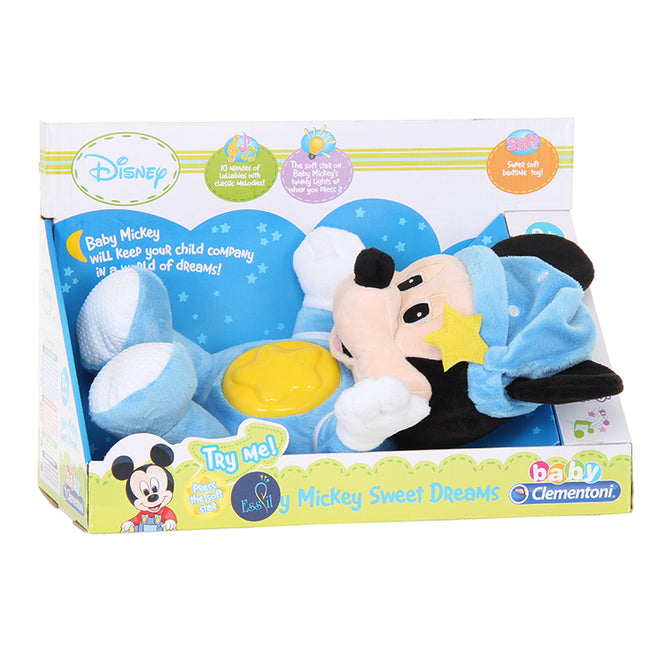 Disney Mickey Night Plush