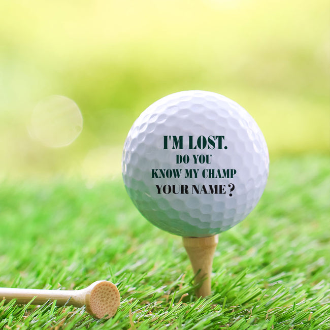 I am Lost Golf Ball Set of 3