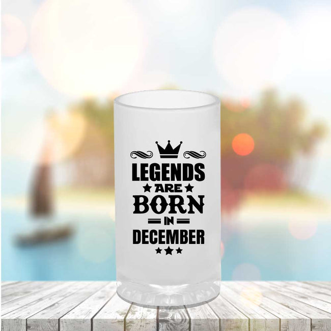 Legends Born Beer Mug