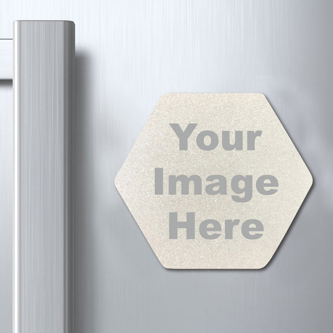Hexagon Photo Magnet