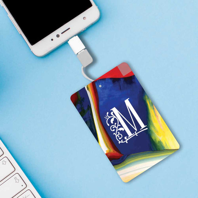 Artistic Initial Power bank