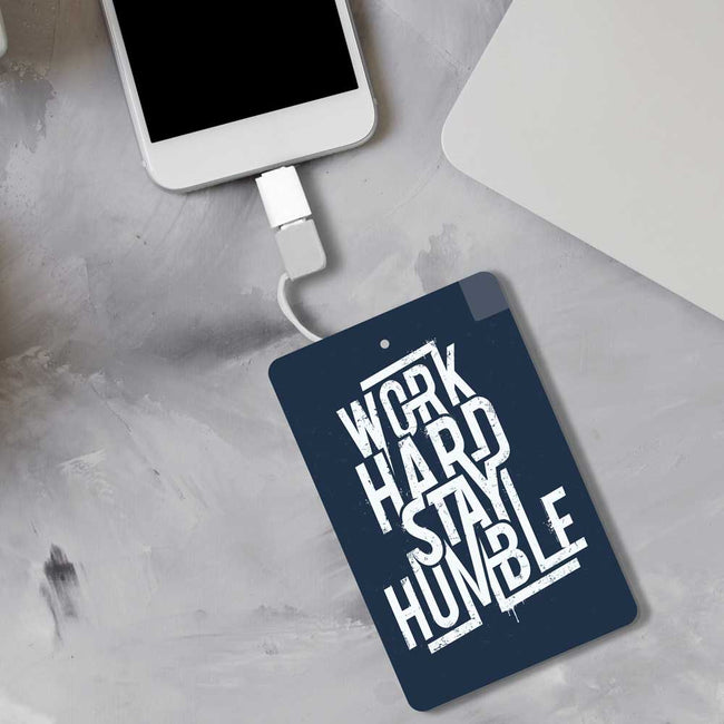 Work Hard Power bank