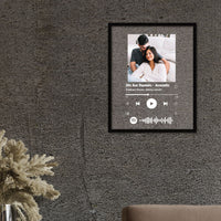 Personalized Spotify Plaque- Your Song