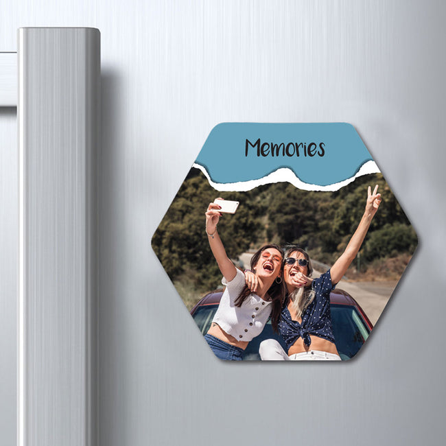 Memories Photo Magnet