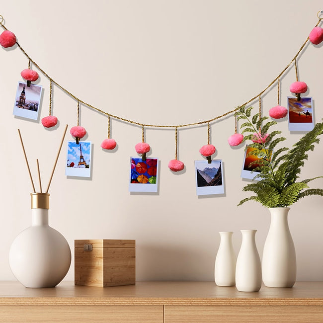 Boho String Photo Holder