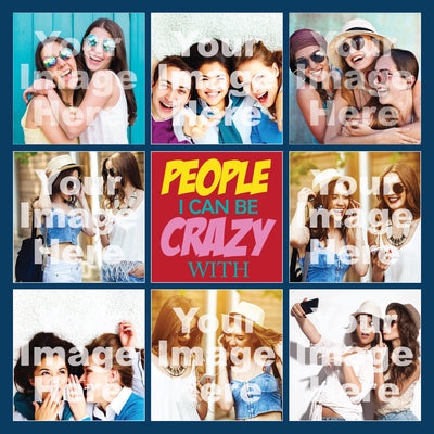 Crazy People Canvas Print