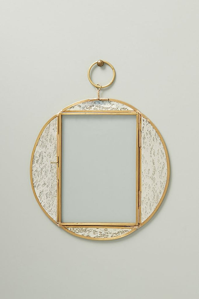 Circular Mercury Wall Photo Frame