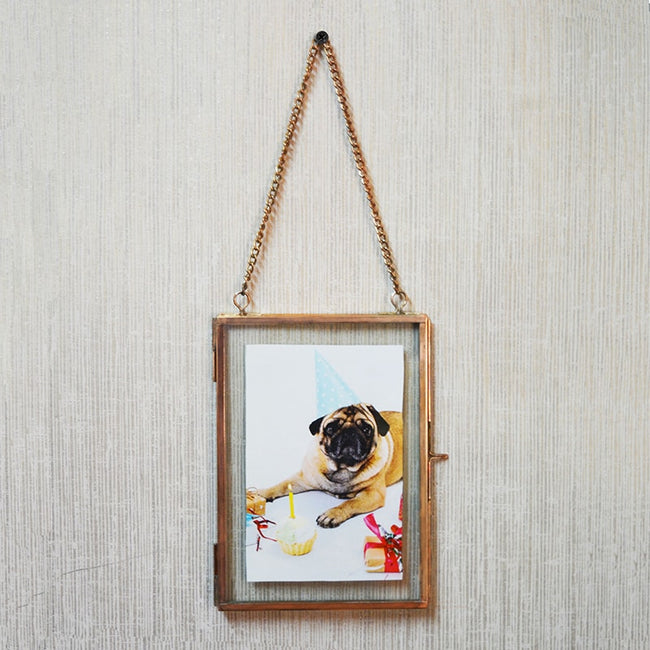 Small Copper Photo Frame
