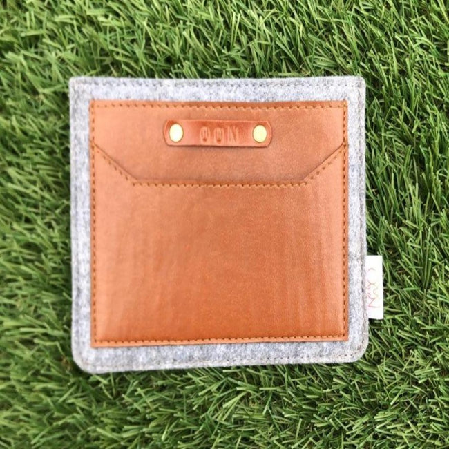Premium Quality Felt Compact & Slim Passport Cover