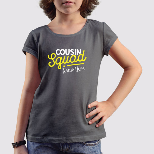 Cousin Squad Girls T-Shirt