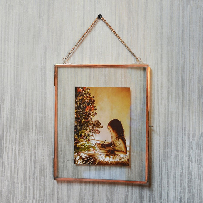 Big Copper Photo Frame