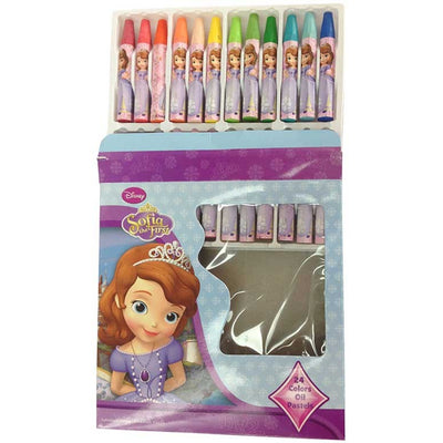 Sofia The First Oil Pastels - 24 Colors