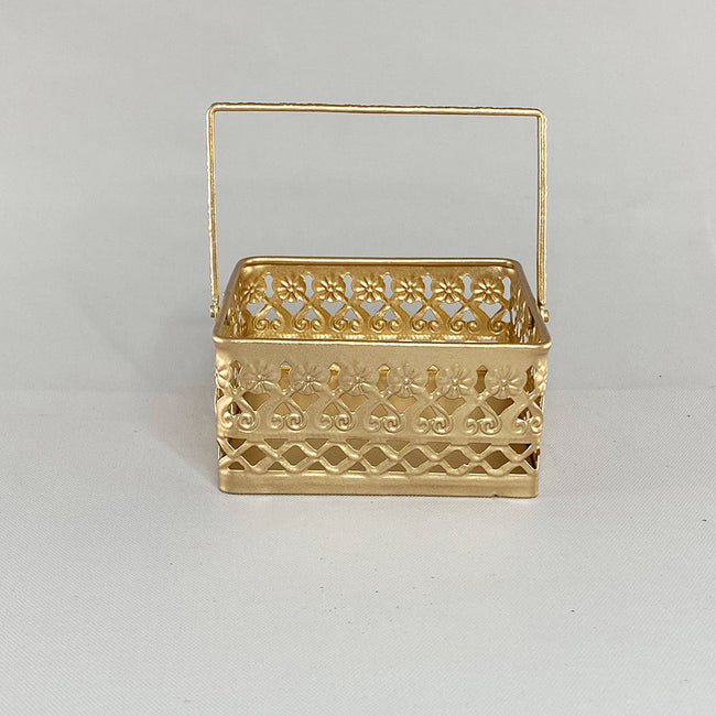 Metal Square Basket