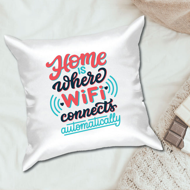 Wifi Quotes Cushion Cover
