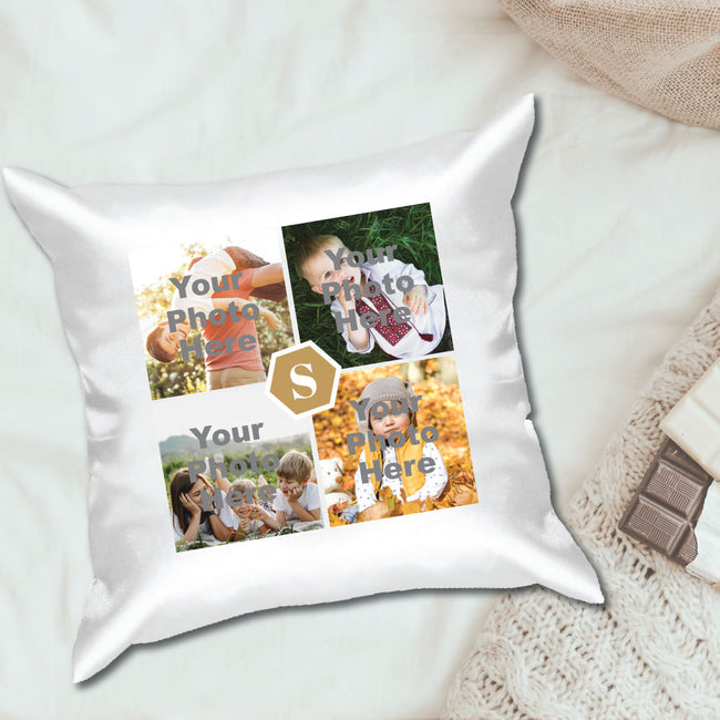 4 Photos Cushion Cover
