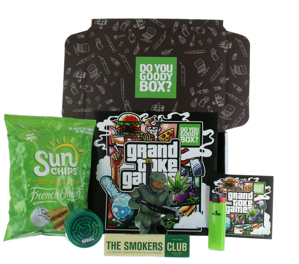 GRAND TOKE GAMES GOODY BOX