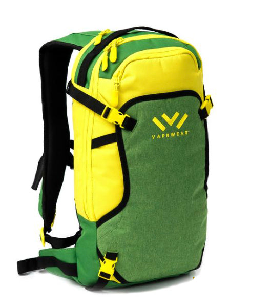 VAPRWEAR HYDRO BACKPACK - GREEN & YELLOW