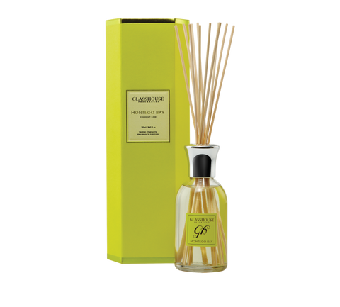 Glasshouse Fragrance Diffuser - Montego Bay