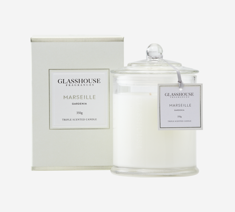Glasshouse Candle - Marseille