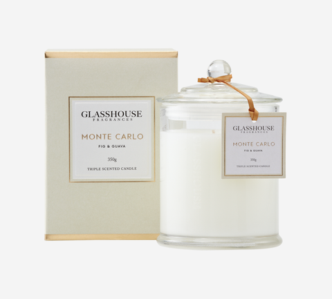 Glasshouse Candle - Monte Carlo