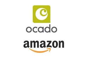 We're now available on Ocado.com & Amazon.co.uk!