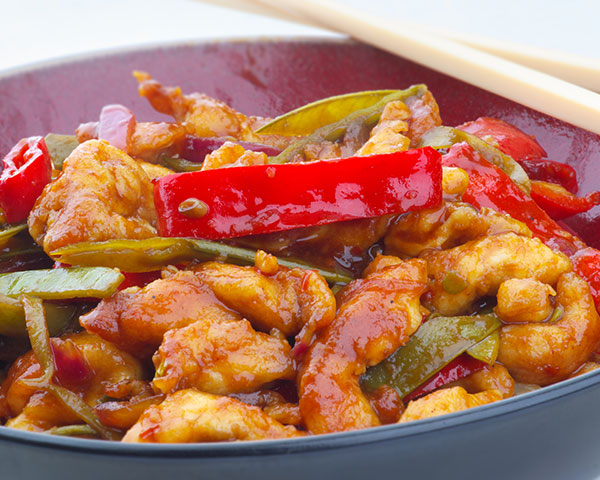 Oriental Pepper Chicken