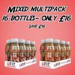 UFIT GINGERBREAD & SALTED CARAMEL MULTIPACK - 16 x 310ML
