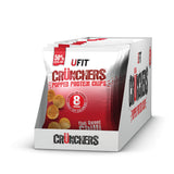 UFIT CRUNCHERS HIGH PROTEIN POPPED CHIPS 11x35G