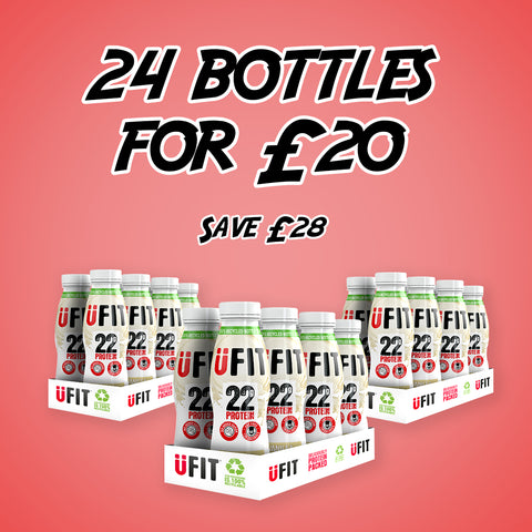 24 BOTTLES OF VANILLA 310ML FOR £20 - SAVE £28