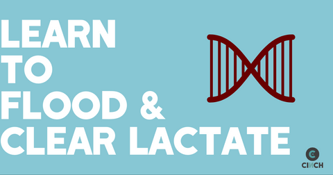 Learn to flood and clear lactate acid