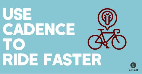 Use cycling cadence to ride faster