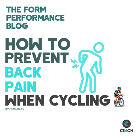 how to prevent back pain when cycling