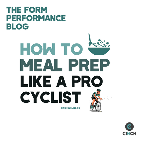 pro cycling meal prep nutrition system or diet for endurance athletes