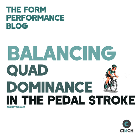 quad dominance cycling tips advice pedal stroke